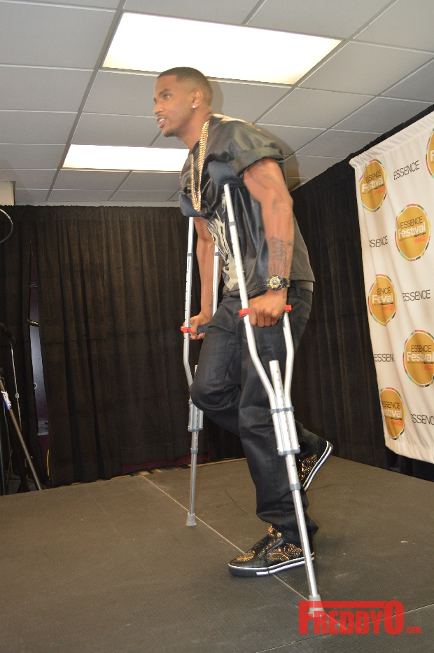 Trey Songz breaks his foot at Essence Festival - FreddyO.comHow Tall Is Trey Songz In Feet