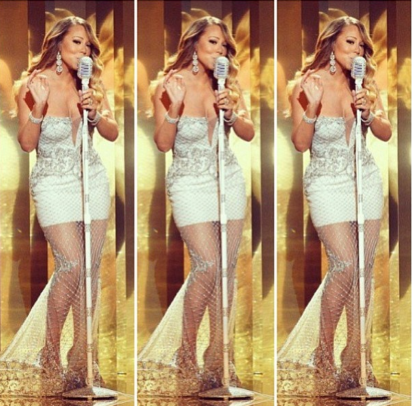 Mariah-Carey-2013-BET-Awards-Instagram
