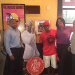 SPOTTED: Ne-Yo At Friday's In Atlanta For Red Hot Summer Of Music Competition