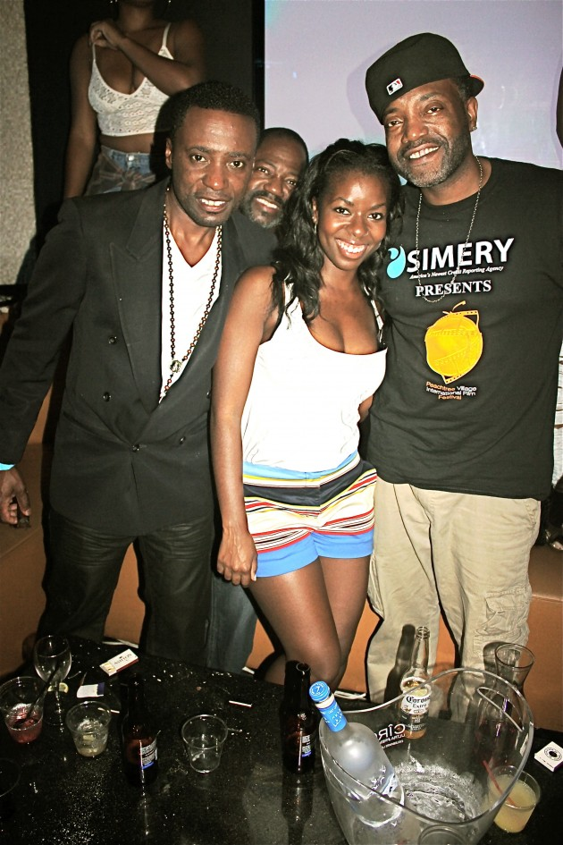 Matty Rich (producer), Camille Winbush and  J.B. PVIFF producer
