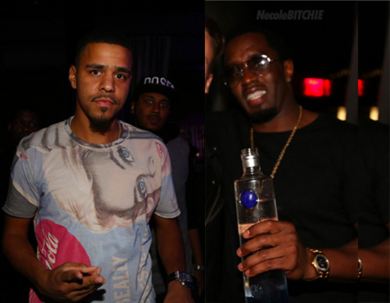 J-Cole-Diddy-Get-Into-it-at-2013-VMA-Afterparty-4