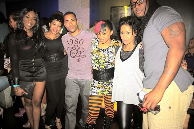 Tiffany, Brand James (actor) Reigndrop Lopes, Lisa Wu and guest