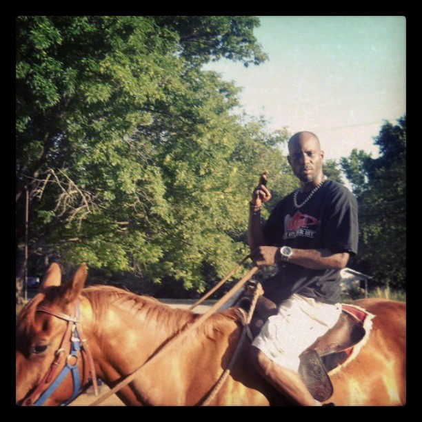dmx-horse-riding-instagram