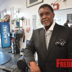 PHOTOS : NeNe Leaks' Husband, Greg Opens the First in a Chain of Barber Shops