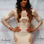 LeToya Luckett Spotted at Indique Atlanta's Grand Opening