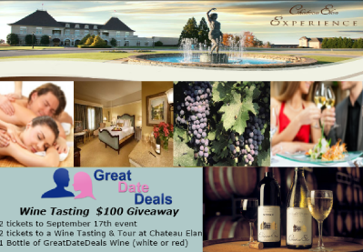 great date deals bow tie wine tasting event