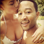 John Legend And Chrissy Teigen Share Wedding Day Photos With ELLE Magazine