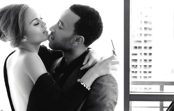 John Legend Displays His Undying Adoration For His New ...  John Legend Dis...