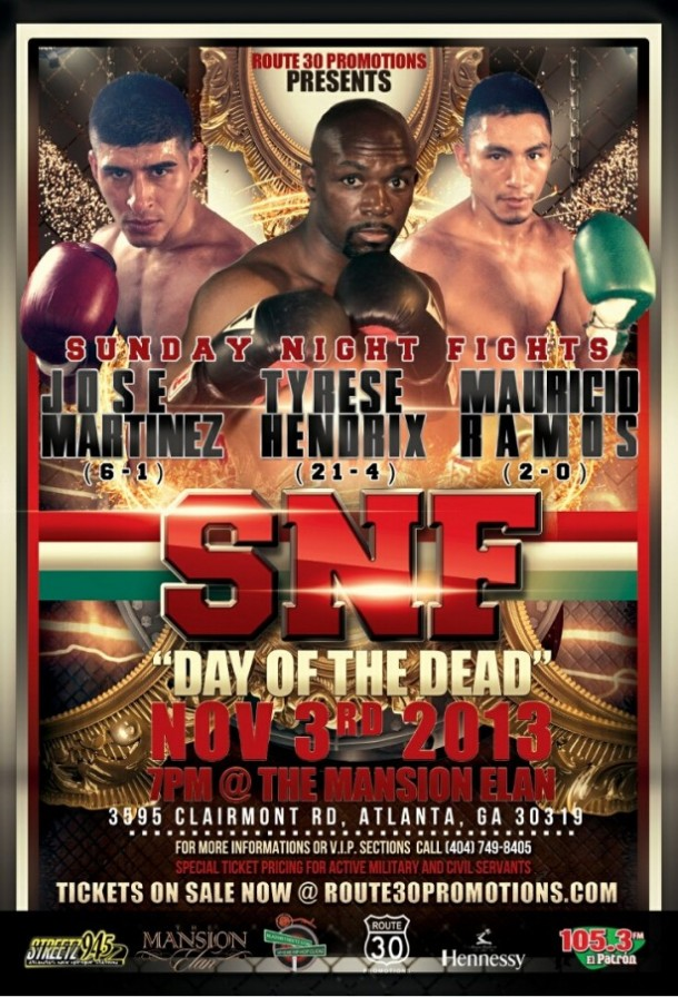 Route 30 SNF Day of the Dead Boxing Match