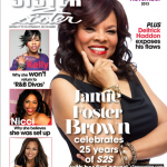Jamie Foster Brown Covers Sister 2 Sister Magazine's 25th Anniversary Issue