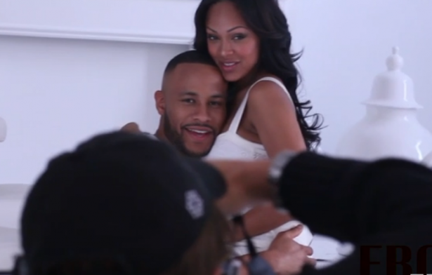 Meagan-Good-Devon-Franklin-Behind-The-Scenes
