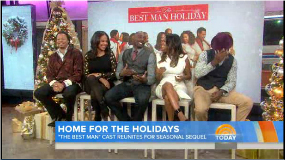 best man holiday today show