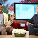 Kanye West Visits Ellen and Premieres New Music Featuring Charlie Wilson and a Topless Kim Kardashian
