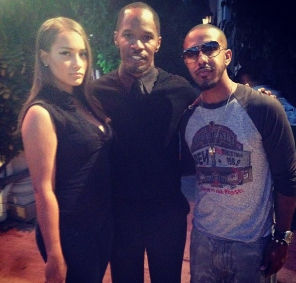 marques-houston-jamie-foxx-hosts-trayvon-martin-hollywood-charity-event