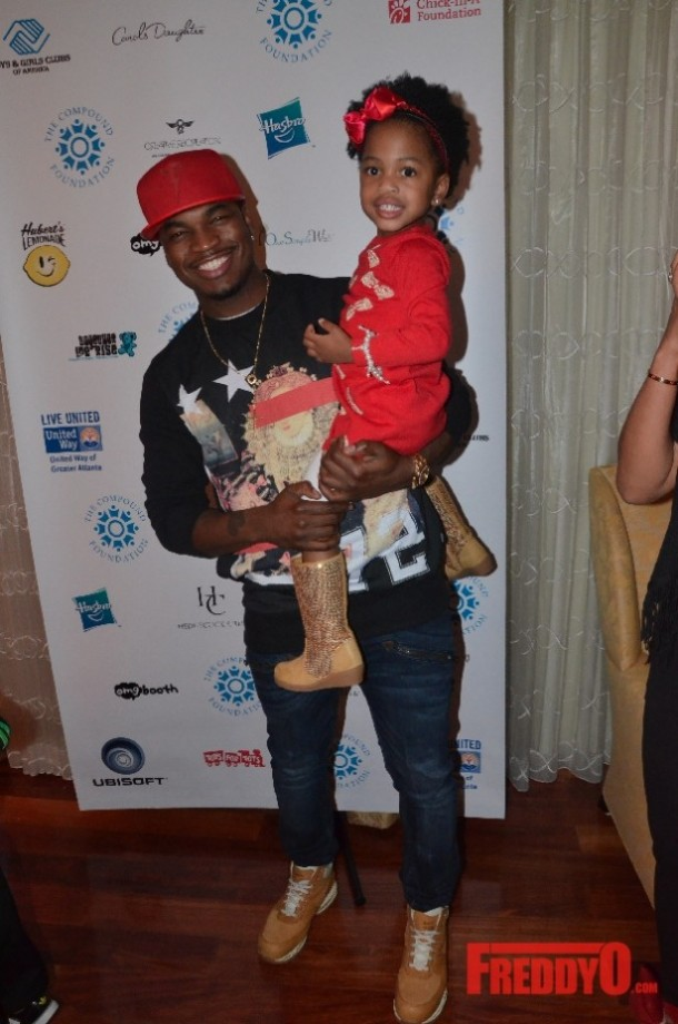 Photo of Ne-Yo & his  Daughter  Madilyn Grace Smith
