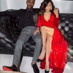 Naya Rivera & Big Sean Pose For Holiday Card