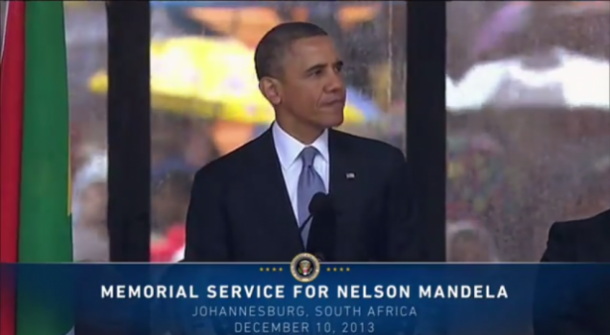 Obama Nelson Mandela Speech