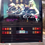 Trina Braxton's Bar Chix Head West  on The Bar Chix Tour Bus #TamarBraxtonGrammyNomineeParty