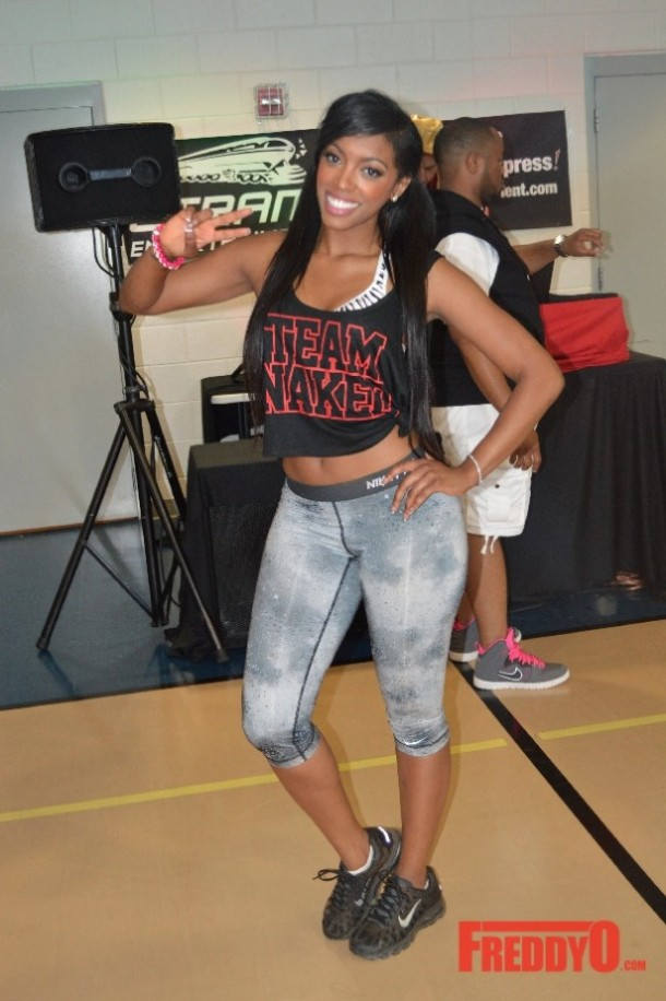 Photo porsha williams drags kenya moore during rhoa reunion girl
