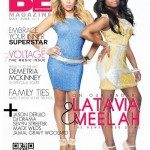 The NEW R&B Divas of ATL LaTavia Roberson & Meelah Cover BE Entertained Magazine's #VOLTAGE Music Issue!