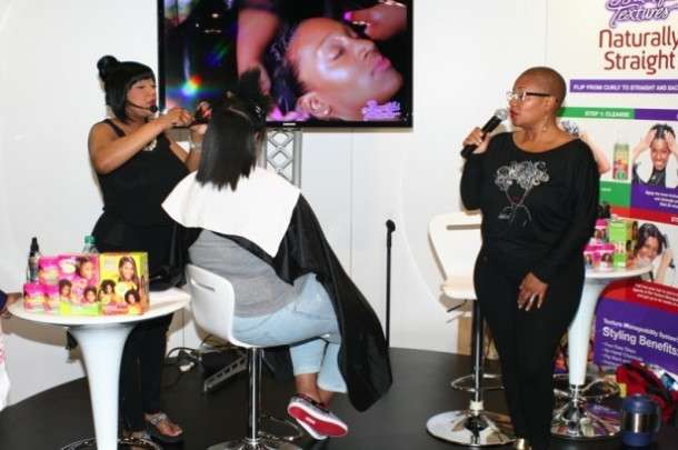 Pam Hogan-Felicia Leatherwood and TMS Hair Demo Model_SON-WNHS
