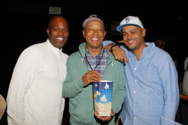 Chris Spencer, Russle Simmons & Jeru Tillman