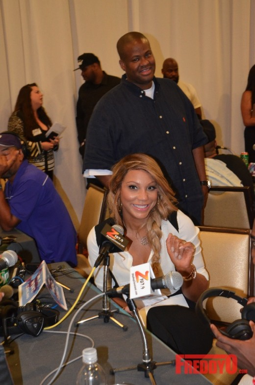 Tamar Braxton and Vince