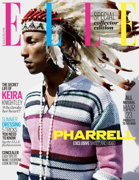 Pharrell-Apologizes-For-Wearing-Native-American-Headdress-Elle UK