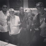 Justin Bieber Instagrams Studio Pic With Chris Brown and Akon!