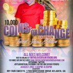 EVENT: #FTLOOF Alzheimer's Foundation Presents 10,000 Coins Fundraiser on Saturday, August 2, 2014