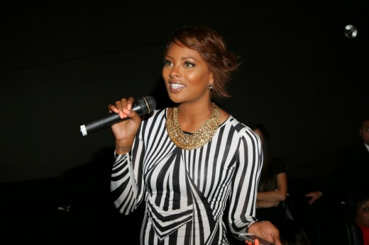 Eva Marcille HOSTS LUCY LA screening!