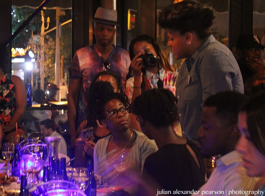 Marsha-Ambrosius-Meet-and-Greet-FreddyO1shares with the crowd