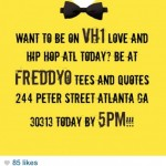 Need Extras for Scene on #LoveandHipHopAtlanta Taping Today at 5 PM!