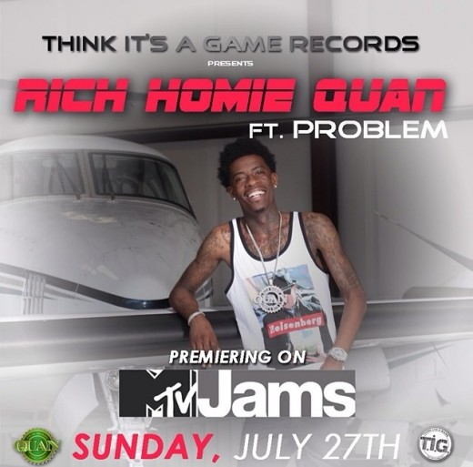 "Rich Homie Quan's ""Walk Thru"""