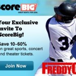 Score BIG with Tickets to the Hottest Events by Using ScoreBig.com!