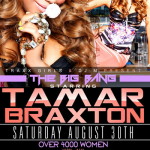 Faith Evans, Tamar Braxton & Sevyn Streeter Supports Atlanta Gay Pride Weekend 2014