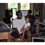 PHOTO: Kim Kardashian Share Photo of Kanye West and Baby North