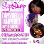 @SamyahmilanBoutique Presents Sip & Shop Event at Tees and Quotes with @Daybella @IamPerez @BlyelHarris