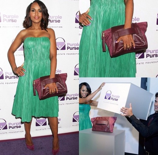 kerry-washington-allstate-purple-purse-project-pretty-girls-rock-dresses
