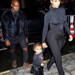 Baby North West Attends Fashion Week Debut In Paris