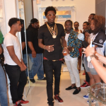 WATCH: Rich Homie Quan Fight With Haters at Adrien Broner Fight!