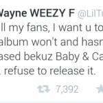 Lil Wayne Wants Off Of Cash Money & Nothing To Do With Baby!!!