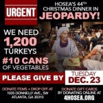 OMG: Hosea Feed the Hungry and Homeless'  Annual Children's Christmas Party In Jeopardy of Being Canceled