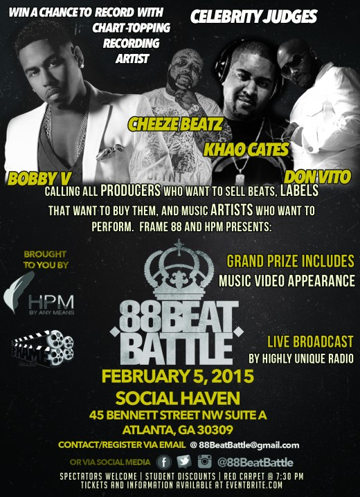 0 88BeatBattle Flyer