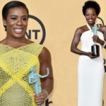 Viola Davis, Uzo Aduba Make SAG History with Leading Female Role Wins!