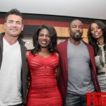 Photos : Cast members Tasha Smith & Michael Jai White (For Better or Worse)  Edwina Findley Dickerson & Aiden Turner (If Loving you is Wrong) talks to Atl press for an exclusive first look at their shows on OWN !
