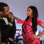 EXCLUSIVE: Hip Hop's hottest couple Meek Mill and Nicki Minaj host party during CIAA in Charlotte, NC at Oasis Tent