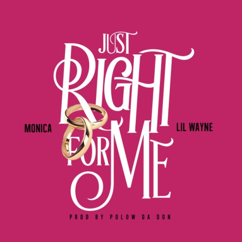 Monica Right For me Cover