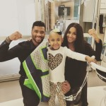 Ciara & Russell Wilson Visit Seattle Childrens Hospital Together