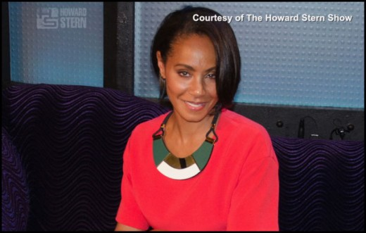 Jada Pinkett Smith Howard Stern Jada p Smith Howard Stern 2